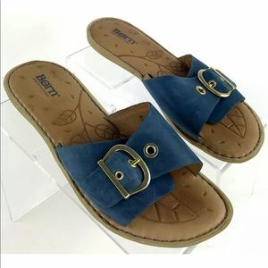 Born Sz 8 Hand Crafted Footwear Flat Women's